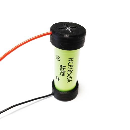 IMG_20190508_164706.jpg Download free STL file 18mm Li-ion Battery Magnetic Connector • 3D printer model, VICLER