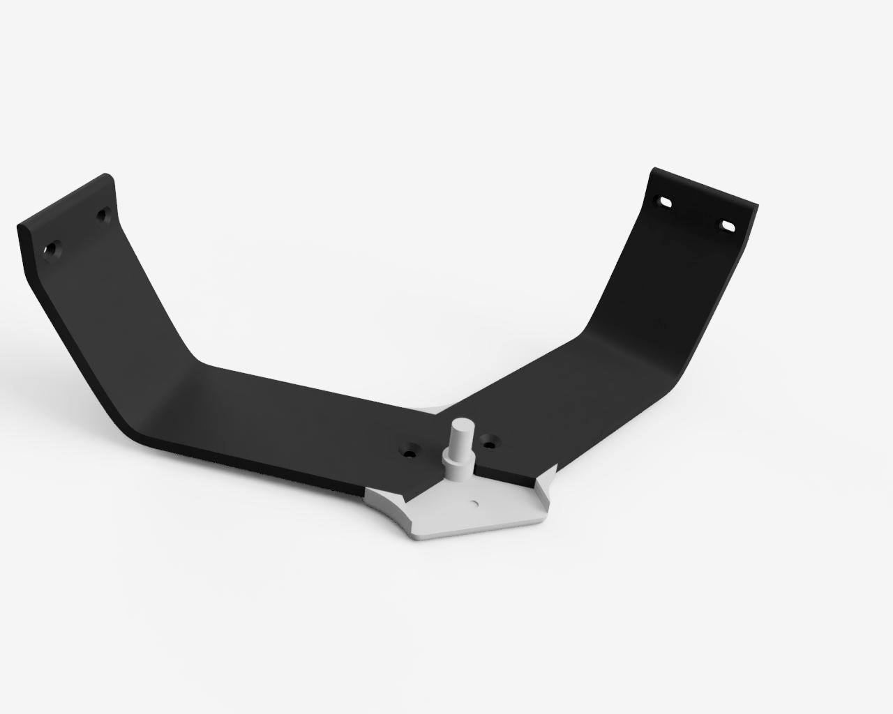 2.png Download free STL file Anycubic Kossel 608 Bearing Top Spool Holder • 3D printable model, VICLER