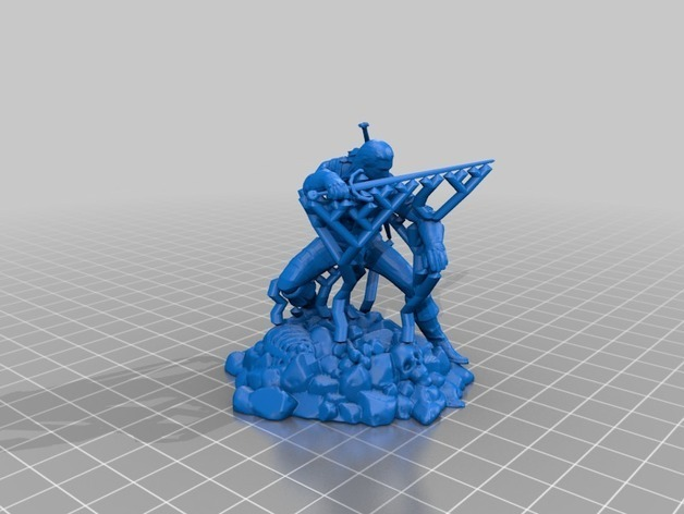 3a6433a9a3ca2eb14ea6c9911d0de69e_preview_featured.jpg Download free STL file the witcher gerald • 3D printer design, sullyvan57