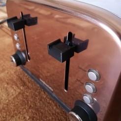 1.jpg Télécharger fichier STL Bouton pour le grille-pain CookWorks • Design pour impression 3D, r3trac3