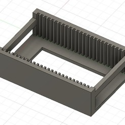 3.jpg Download STL file 25 DIMM RAM (laptop memory) tray / storage / holder • Design to 3D print, r3trac3