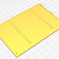 1.jpg Download STL file Lenovo T430 Memory cover • Template to 3D print, r3trac3