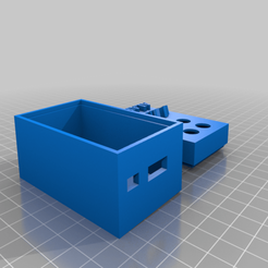 Download free 3D printing templates Dont Panic Case, GruntL