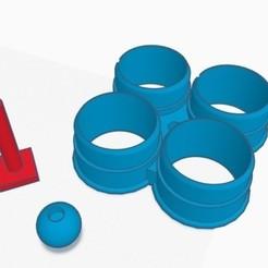 Download free STL file Bar rod • Template to 3D print, GruntL