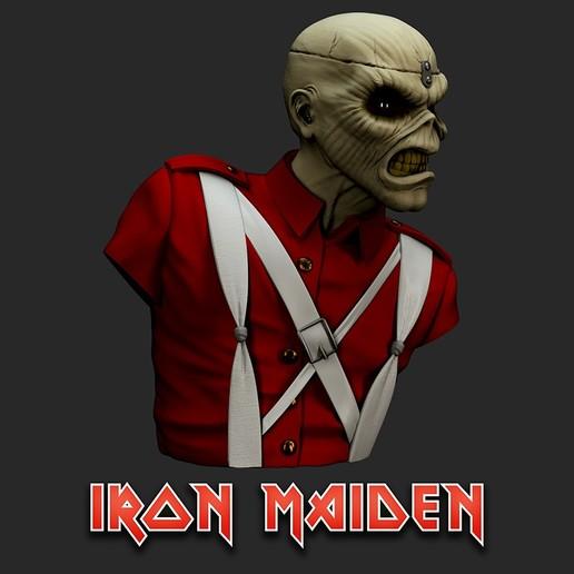 cu_Render3.jpg Télécharger fichier STL Eddie - The Trooper [Iron Maiden] • Modèle imprimable en 3D, stonestef