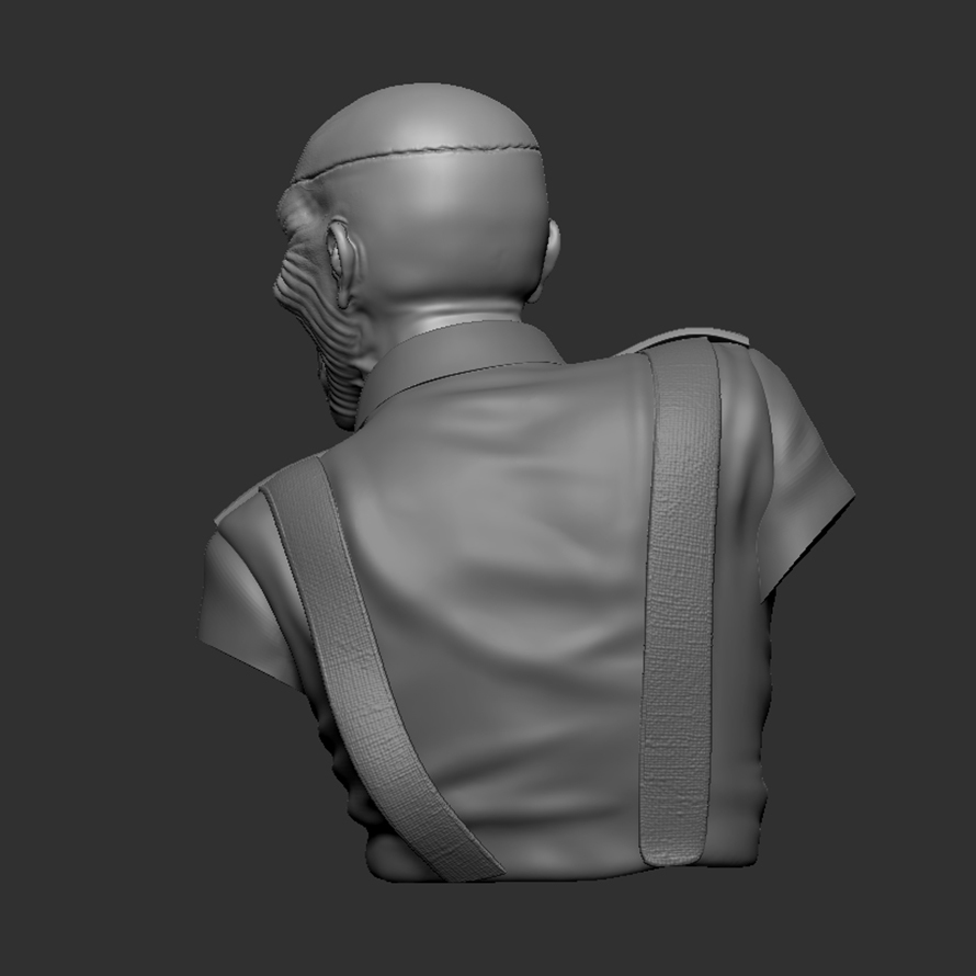 c_ZBrush Document4.jpg Download STL file Eddie - The Trooper [Iron Maiden] • 3D printable object, stonestef