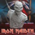 cults_.1.jpg Download STL file Eddie - The Trooper [Iron Maiden] • 3D printable object, stonestef