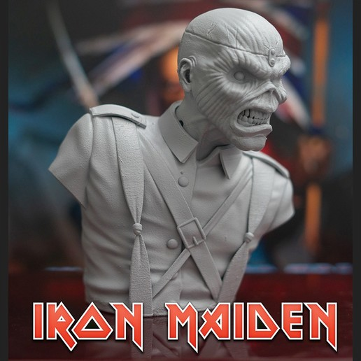 cults_.3.jpg Download STL file Eddie - The Trooper [Iron Maiden] • 3D printable object, stonestef