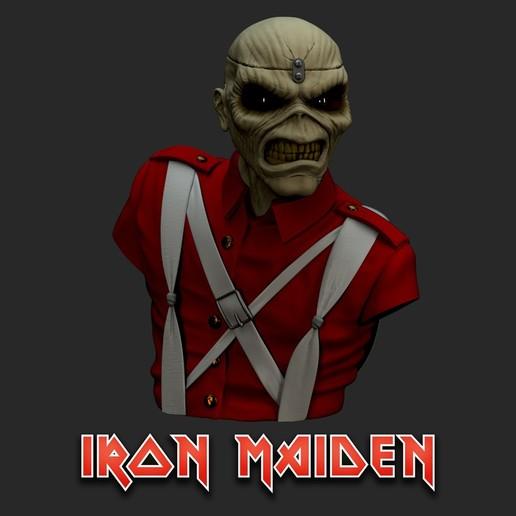 cu_Render1.jpg Télécharger fichier STL Eddie - The Trooper [Iron Maiden] • Modèle imprimable en 3D, stonestef