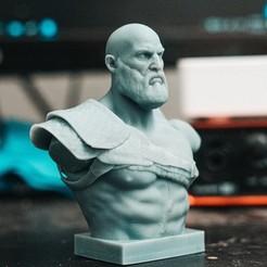 Télécharger fichier STL Kratos - Dieu de la guerre 4 • Objet pour impression 3D, stonestef