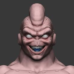 Télécharger fichier STL gratuit Super Buu bust - Dragon Ball • Objet pour impression 3D, stonestef