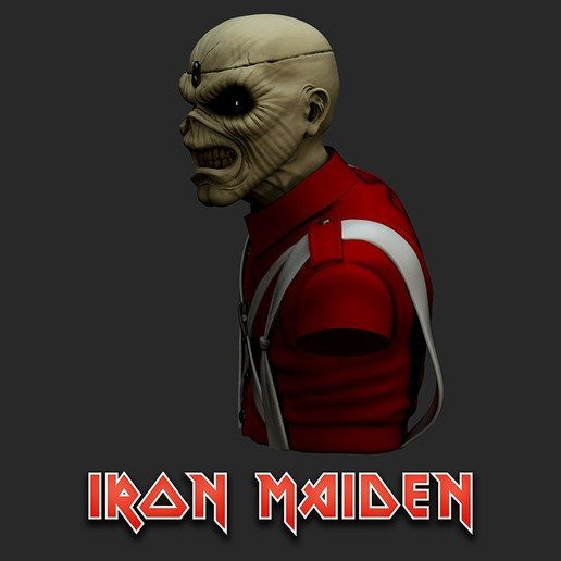 cu_Render4.jpg Télécharger fichier STL Eddie - The Trooper [Iron Maiden] • Modèle imprimable en 3D, stonestef