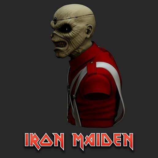 cu_Render4.jpg Download STL file Eddie - The Trooper [Iron Maiden] • 3D printable object, stonestef