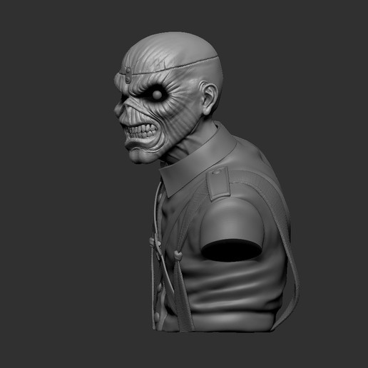 c_ZBrush Document3.jpg Download STL file Eddie - The Trooper [Iron Maiden] • 3D printable object, stonestef