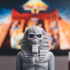 Télécharger fichier STL Eddie - Powerslave [Iron Maiden] • Objet imprimable en 3D, stonestef