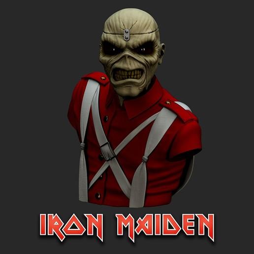 cu_Render2.jpg Download STL file Eddie - The Trooper [Iron Maiden] • 3D printable object, stonestef