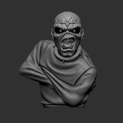 1.jpg Télécharger fichier STL Eddie - Piece of Mind [Iron Maiden] • Plan pour imprimante 3D, stonestef