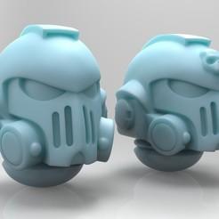 Descargar modelos 3D gratis Cascos alternativos para Primaris Reiver, mrmcangry