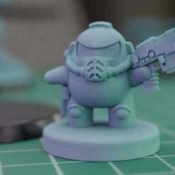 amongus.jpg Download free STL file AMONG US MARINE • 3D printer design, mrmcangry