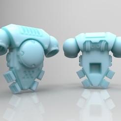Imprimir en 3D gratis Mochila Prime Space Warrior - Edición Phobos, mrmcangry