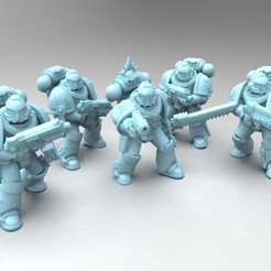 Download free 3D printer files Bloody Tacky Squad A, mrmcangry