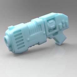 Descargar Modelos 3D para imprimir gratis Pistola de plasma Primaris, mrmcangry