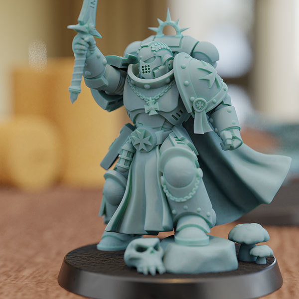 1b.jpg Download STL file Champion of the Emperor • 3D print object, mrmcangry
