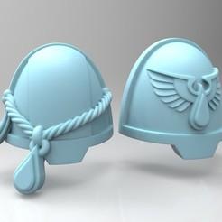 Impresiones 3D gratis Malditas hombreras de teniente de los marines, mrmcangry