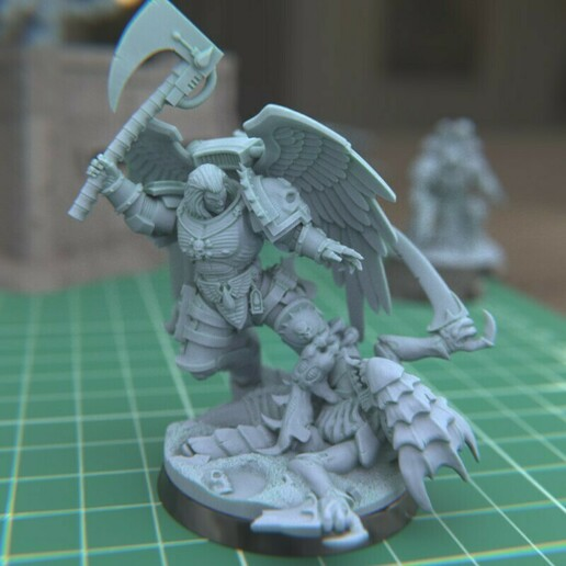 """1.jpg Download STL file Austin the """"Space Vampire Executioner"""" • Model to 3D print, mrmcangry"""