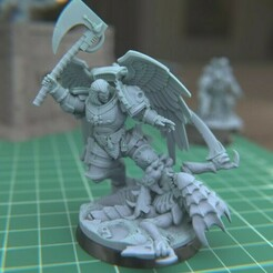"1.jpg Download STL file Austin the ""Space Vampire Executioner"" • Model to 3D print, mrmcangry"