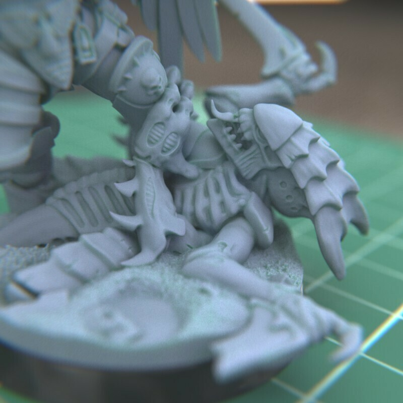 """3.jpg Download STL file Austin the """"Space Vampire Executioner"""" • Model to 3D print, mrmcangry"""