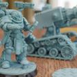 Descargar Modelos 3D para imprimir gratis El hongo técnico a escala de Primaris, mrmcangry