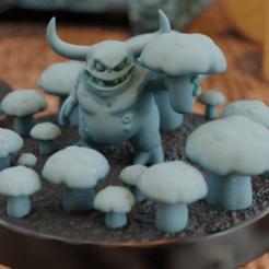 wide.png Télécharger fichier STL gratuit Nurgling, l'amour des champignons • Objet pour impression 3D, mrmcangry