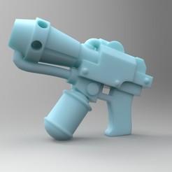 Impresiones 3D gratis MKIII Llamador de mano, mrmcangry
