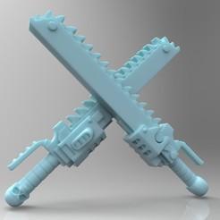 Descargar archivos 3D gratis Espada de cadena de Primaris, mrmcangry