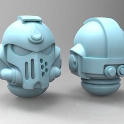 untitled.245.jpg Download free STL file Blood Angels Primaris Helmet • 3D print model, mrmcangry