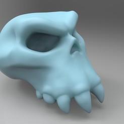 Descargar archivos STL gratis Cráneo de Ork, mrmcangry