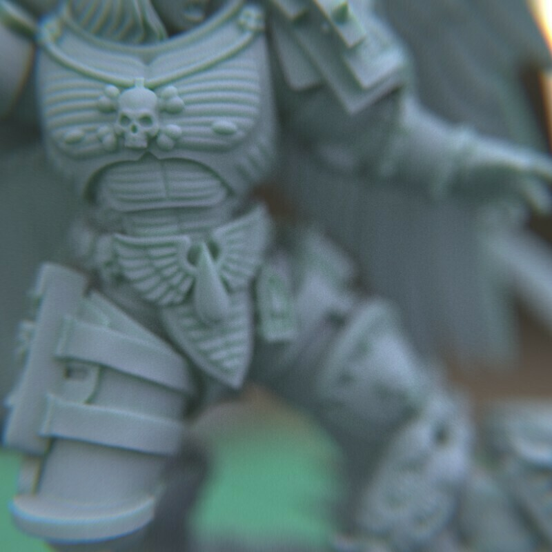 """7.jpg Download STL file Austin the """"Space Vampire Executioner"""" • Model to 3D print, mrmcangry"""