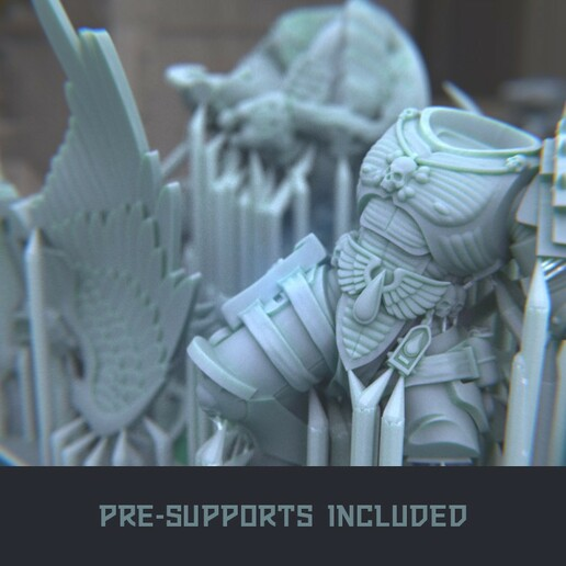 """10.jpg Download STL file Austin the """"Space Vampire Executioner"""" • Model to 3D print, mrmcangry"""