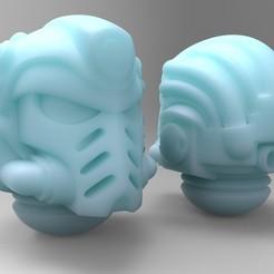 Imprimir en 3D gratis Casco de Bibliotecario Principal, mrmcangry
