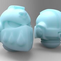 Impresiones 3D gratis Compañía de Muerte Prime Helm, mrmcangry