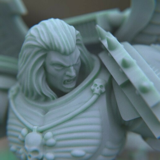 """6.jpg Download STL file Austin the """"Space Vampire Executioner"""" • Model to 3D print, mrmcangry"""