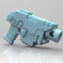 Download free 3D printer files Bolt Pistol, mrmcangry