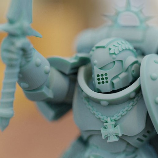 2b.jpg Download STL file Champion of the Emperor • 3D print object, mrmcangry