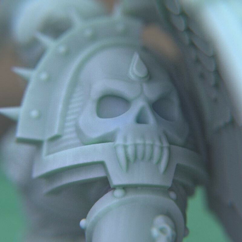 """8.jpg Download STL file Austin the """"Space Vampire Executioner"""" • Model to 3D print, mrmcangry"""