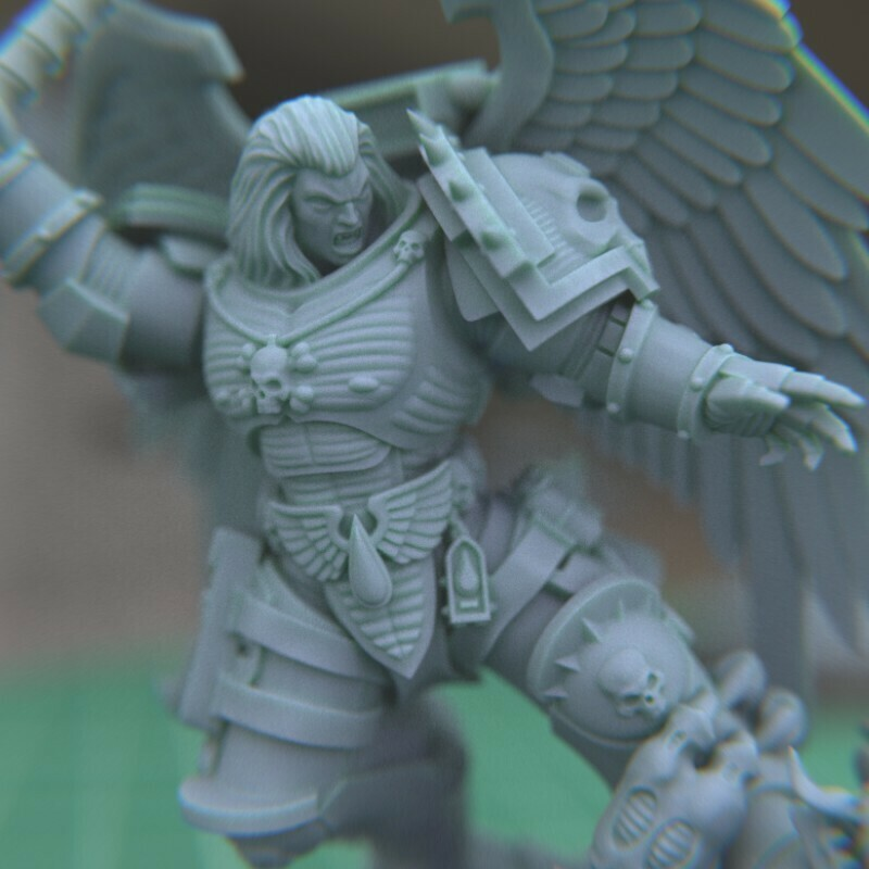 """2.jpg Download STL file Austin the """"Space Vampire Executioner"""" • Model to 3D print, mrmcangry"""