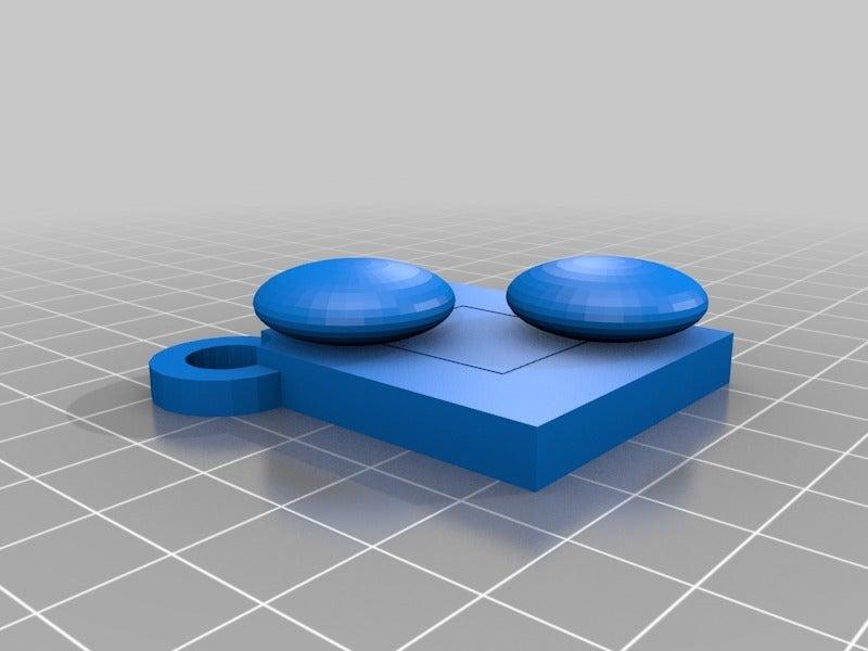 8c547a1d9596795e1a87e463bae30b90.png Download free STL file Goban Keychain - BiggerStones • 3D printable design, Dr4l3g
