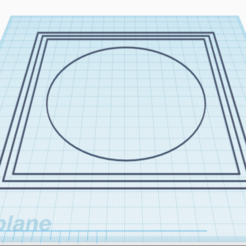 BedLevelingSTL.png Download free GCODE file Bed leveling for nozzle 0.4 - Geeetech A10 • 3D printable template, Dr4l3g