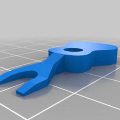 bridge-pin-out-tool.png Télécharger fichier STL gratuit Ukulélé et guitare - Pin Out Tool • Plan pour imprimante 3D, Dr4l3g