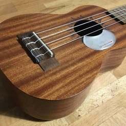 ukestrap1.jpg Descargar archivo STL gratis Correa de uculele con estilo de guitarra folclórica • Modelo para la impresora 3D, Dr4l3g